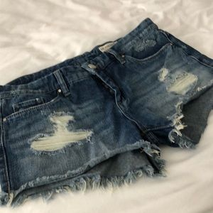 Blank NYC denim shorts, size 27. Worn just once!